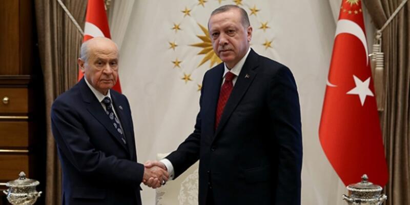 Son dakika... Cumhurbaşkanı Erdoğan, saat 15.30'da Bahçeli ile görüşecek