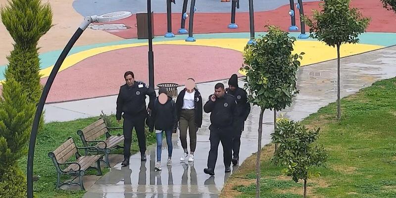 Kayıp kızlar güvenlikçilerin dikkati sayesinde bulundu