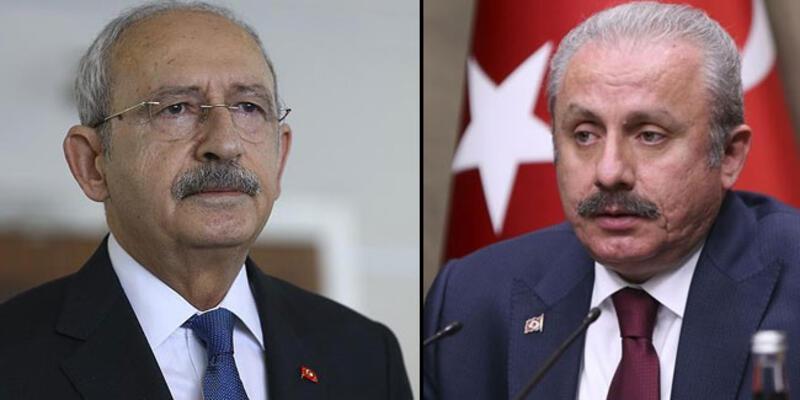 Kılıçdaroğlu, TBMM Başkanı Şentop ile görüştü