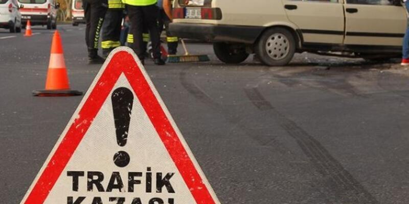 İki otomobilin çarpıştığı kazada 5 kişi yaralandı