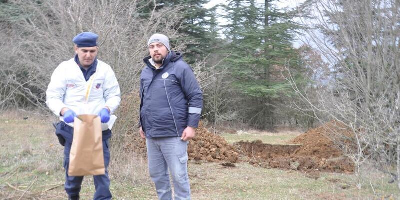 Kayıp çiftçi için yapılan kazıda kemikler bulundu