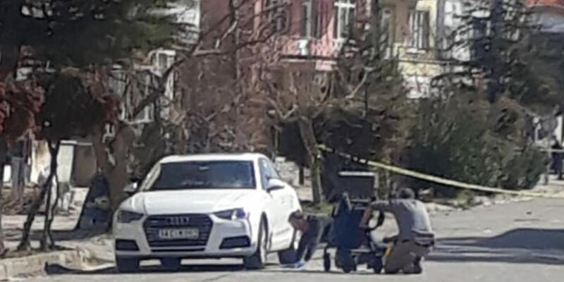 İş insanın otomobilinde bomba bulundu