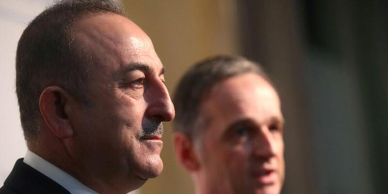 Bakan Çavuşoğlu, Alman mevkidaşı ile görüştü