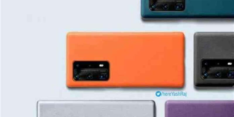 Huawei P40, yeni renk seçenekleri ile göründü
