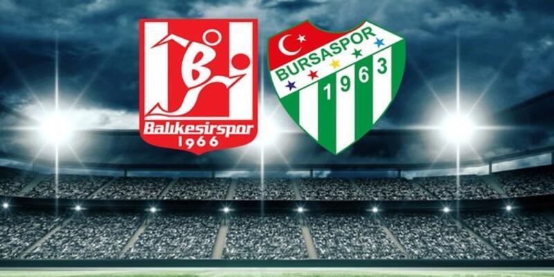 Balıkesirspor Bursaspor CANLI YAYIN