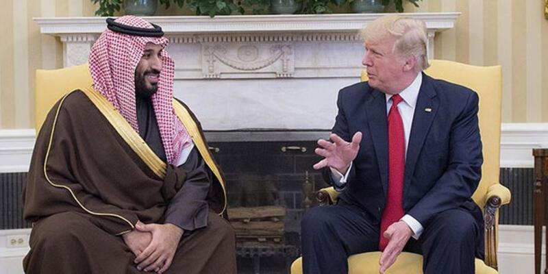 Trump ve Suudi Veliaht Prensi Bin Selman, küresel enerji piyasalarını görüştü