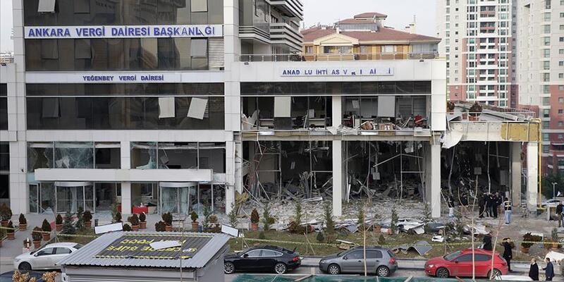 Ankara'da vergi dairesinin bombalanması davasında sanıklara ceza yağdı