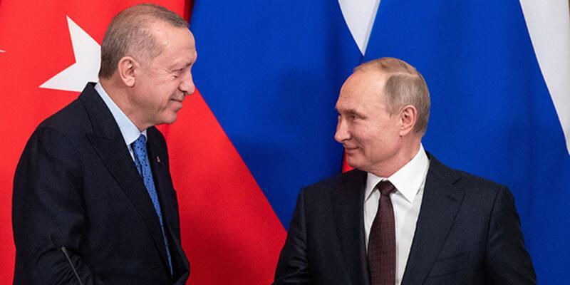 Son dakika... Cumhurbaşkanı Erdoğan, Putin'le görüştü
