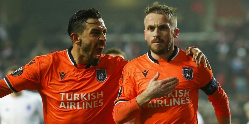 UEFA Avrupa Ligi'nde Başakşehir tek golle kazandı