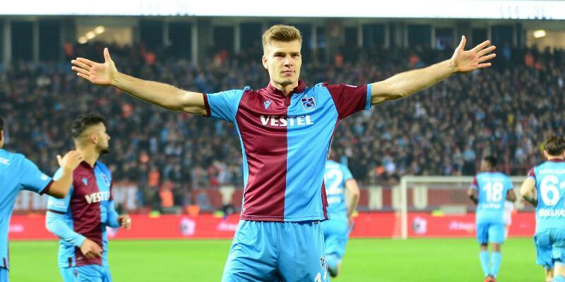 Trabzonspor'da Sörloth'un MR'ı temiz çıktı