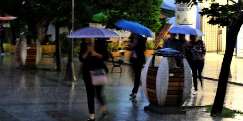 Meteoroloji'den o bölgelere kuvvetli yağış uyarısı