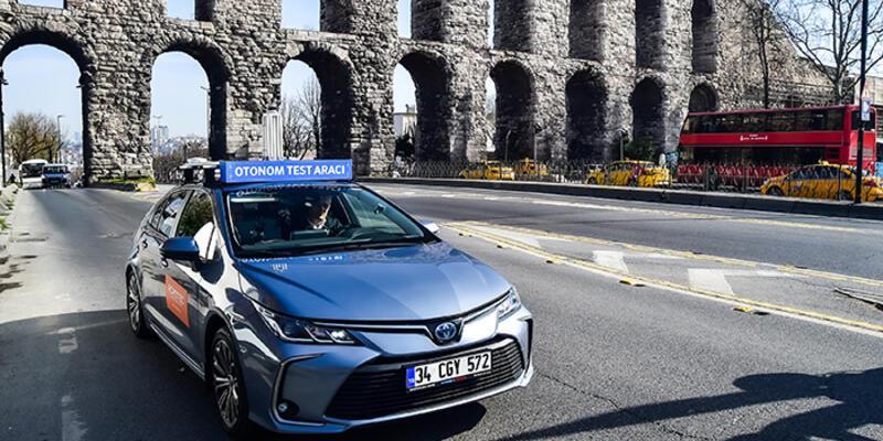 İstanbul trafiğinde sürücüsüz araç