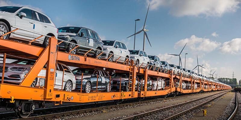 Volvo Cars kamyondan trene geçti