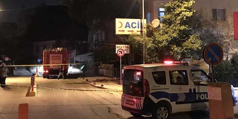 Pendik'teki balkonları çöken bina mühürlendi