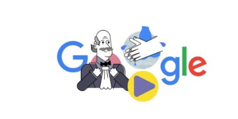 Ignaz Semmelweis kimdir? Gooogle'dan Corona virüsüne karşı doodle