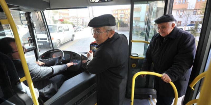65 yaş ve üstü kişilerin toplu ulaşımı durduruldu