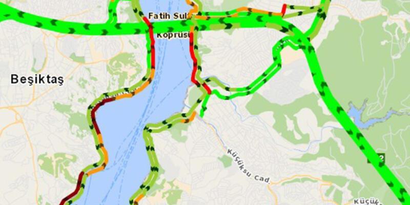 İstanbul'da tepki çeken koronavirüs haritası