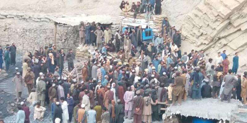 Pakistan'da maden ocağında facia