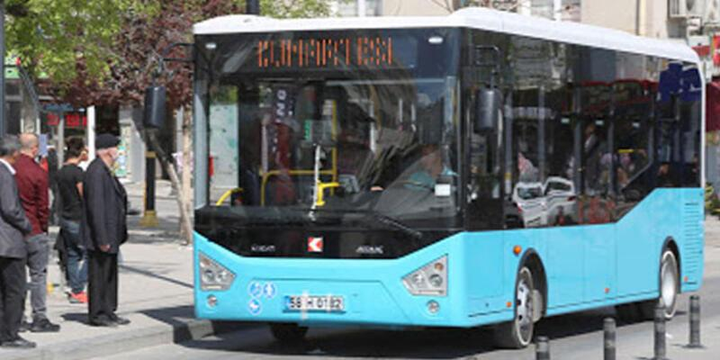 Sivas'ta sağlık çalışanları toplu ulaşım araçlarından ücretsiz yararlanacak