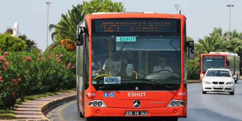 İzmir'de toplu taşıma düzenlemesi
