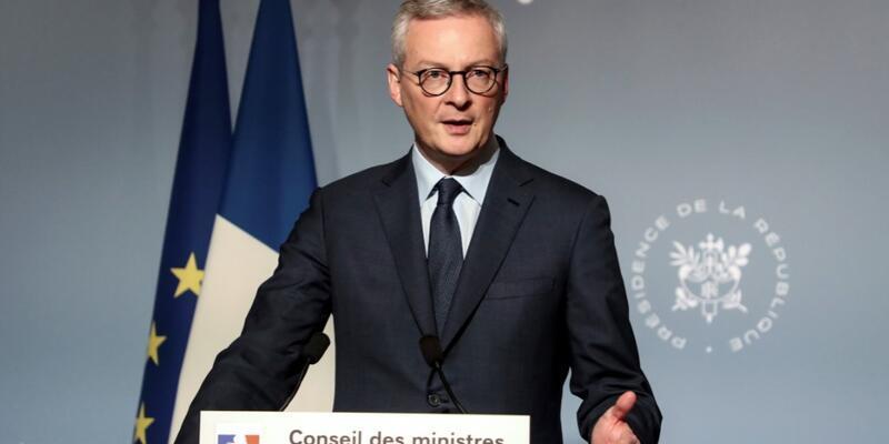 Fransa Maliye Bakanı Le Maire: İçinde bulunduğumuz durum 1929 Büyük Buhran gibi