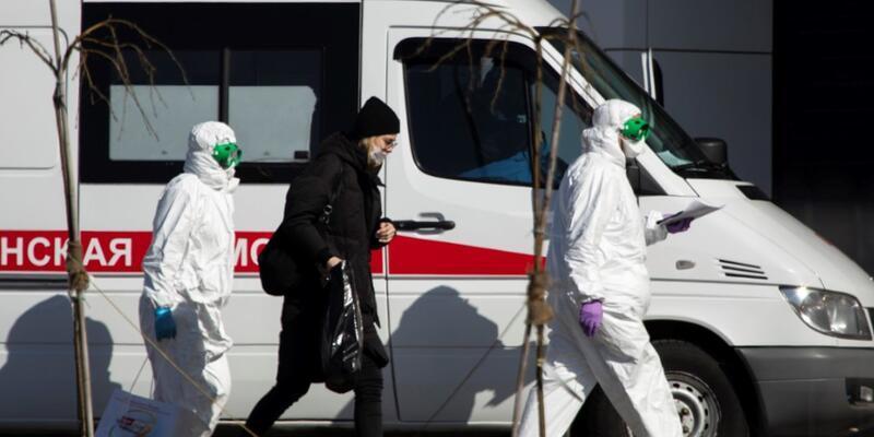 Rusya'da 25 katlı apartman karantinaya alındı