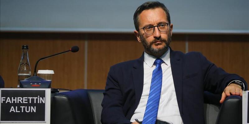 İletişim Başkanı Altun: Koronavirüse karşı hükümetimiz sıkı sağlık önlemleri alıyor
