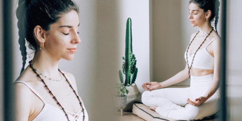 Elvin Levinler'den yoga dersi