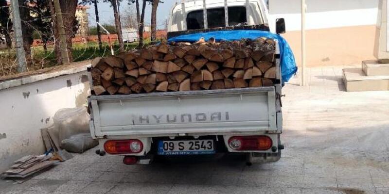 'Odun yardımı yapacağız' deyip hırsızlık yaptılar