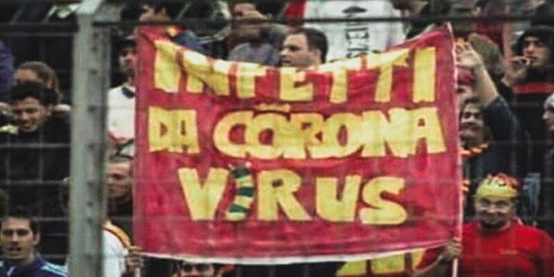İtalya'da 16 yıl önce açılan koronavirüs pankartı!