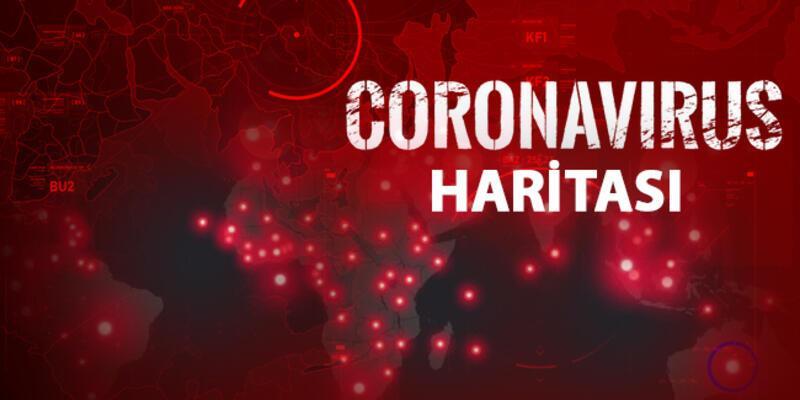 Dünya geneli corona virüsü haritası... Koronavirüste son durum ne?