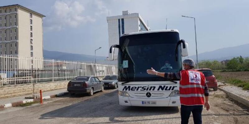 KKTC'den getirilen 143 Türk vatandaşı karantinada