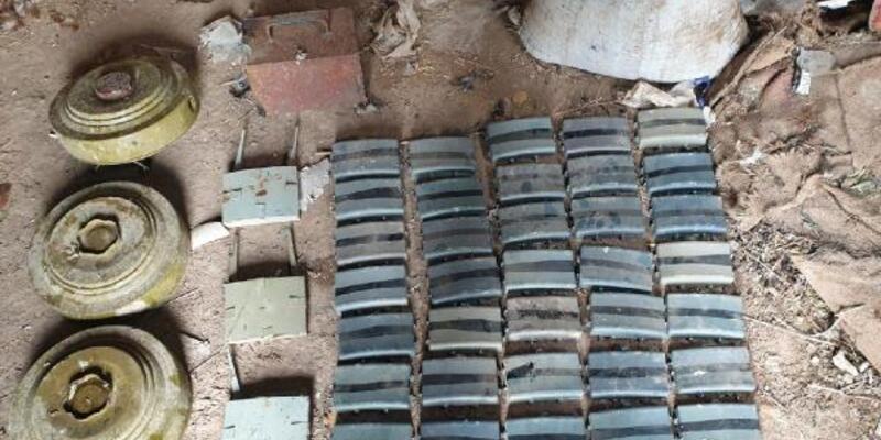 Barış Pınarı bölgesinde 5 kilo paylayıcı imha edildi