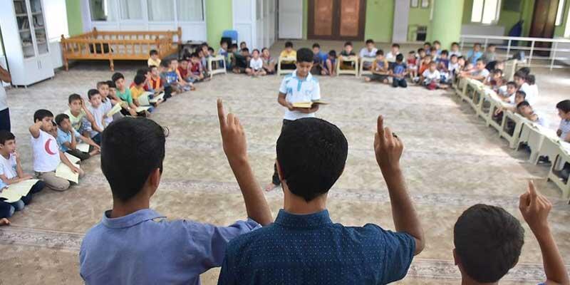 Kur'an kurslarında eğitime verilen ara uzatıldı