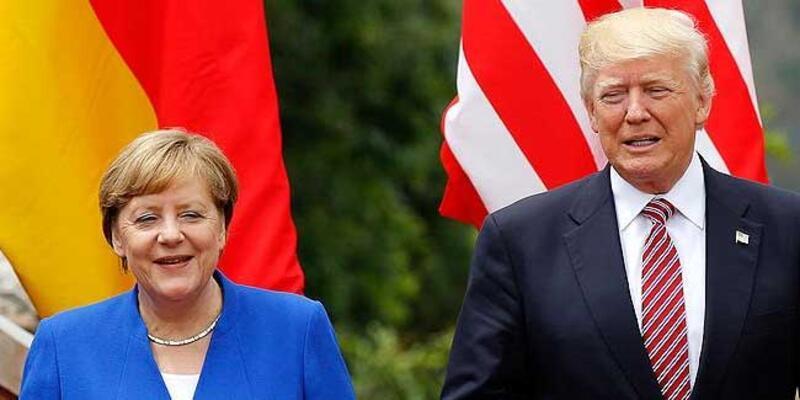 Merkel ile Trump telefonda görüştü