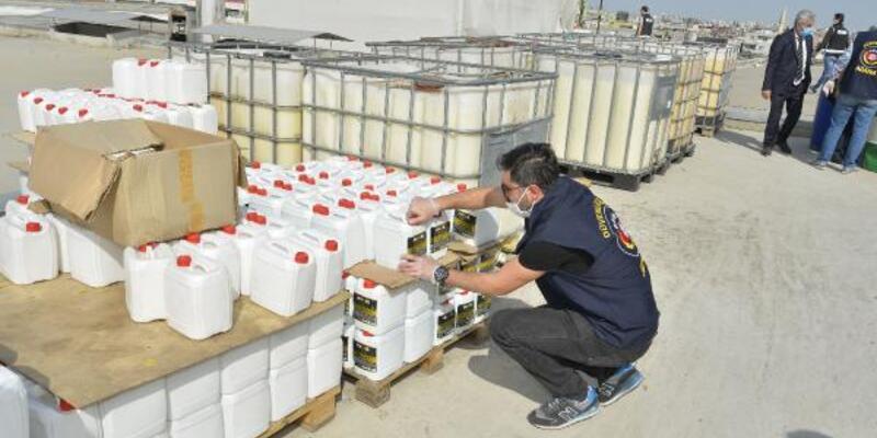 2 milyon liralık sahte temizlik ürünü ele geçirildi