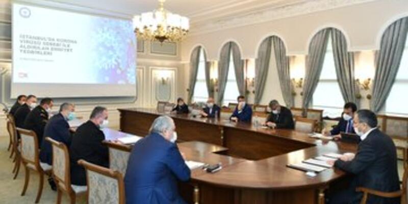 İstanbul Valiliği'nde  İl İdare Kurulu toplantısı düzenlendi