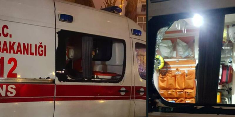 İstanbul'da koronavirüs vakasına giden 112 ekibine dehşeti yaşattılar