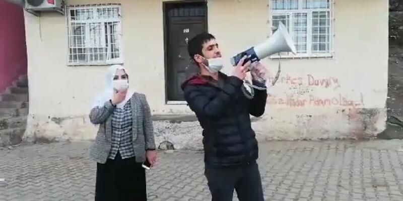 HDP'li Tosun ile megafonla anons yaptırdığı kişi hakkında soruşturma