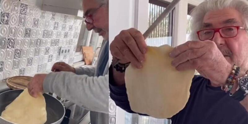 Usta oyuncu Erdal Özyağcılar mutfakta!