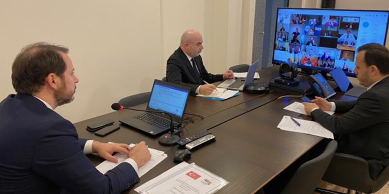 G-20 Hazine Bakanları ve Merkez Bankası Başkanları Kovid-19 gündemiyle toplandı
