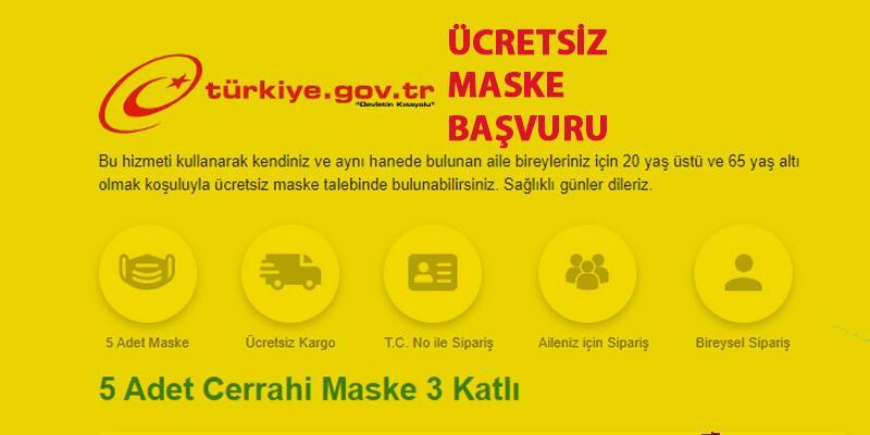 e-Devlet ücretsiz maske başvuru işlemleri... ePttAVM'den maske nasıl alınır?