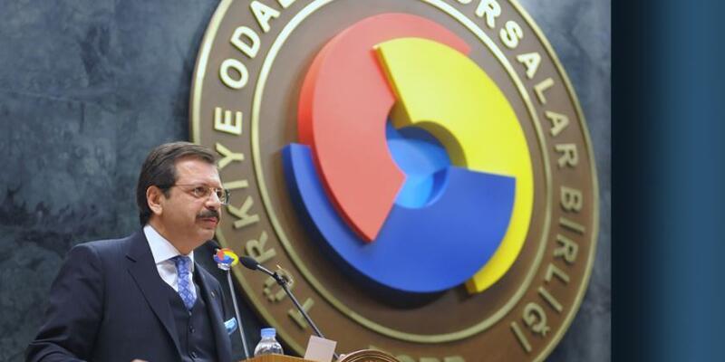 TOBB Başkanı Hisarcıklıoğlu: Bankaları firmalarımıza destek olmaya çağırıyorum