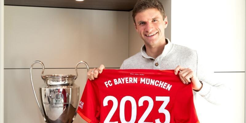 Thomas Müller'den 3 yıllık imza
