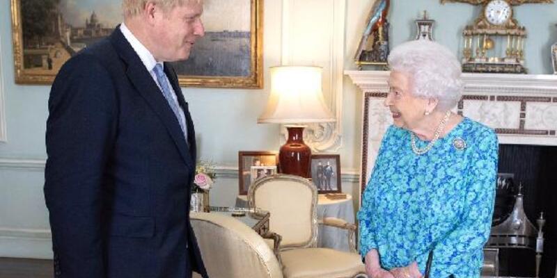 Kraliçe Elizabeth'ten 'Boris Johnson' mesajı