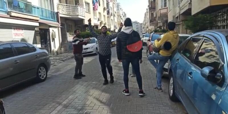 Yasağı hiçe sayıp sokağa çıktılar! Darbuka çalarak para toplayan 5 kişiye ceza