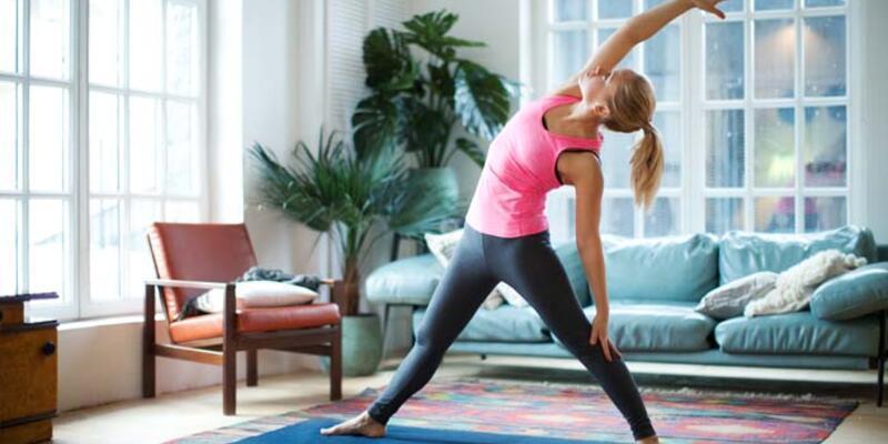Evde egzersiz yaparken bunlara dikkat - Sağlık Haberleri