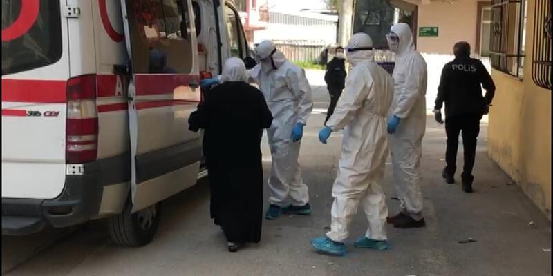 Hastaneden kaçan 65 yaşındaki koronavirüs hastası kadın, evinde yakalandı