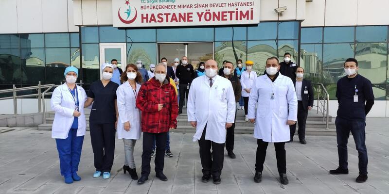 64 yaşındaki Prof. Dr. Özyaral da koronavirüsü yendi