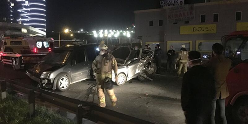 Pendik'te kaza: Çok sayıda yaralı var